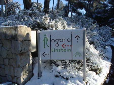 L'AGORA Einstein sous la neige - 11 & 12 févier 2010